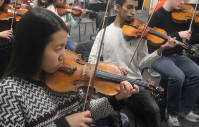 All-State orchestra, band perform at Tan-Tar-A