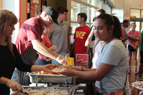 MHS Renaissance hosts Lucky's BBQ for the first time