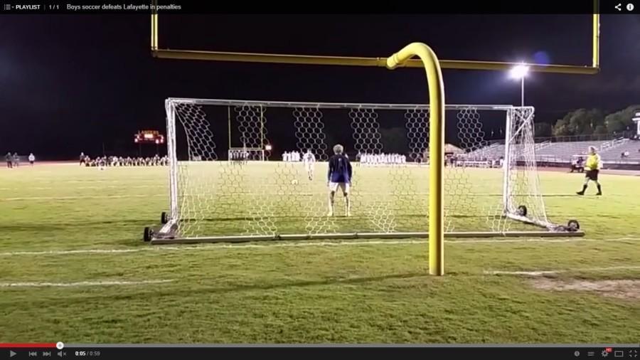 Boys soccer defeats Lafayette in penalties (Video)