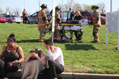 Photo Gallery: Prom crash reenactment