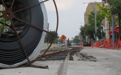 Construction continues on Loop Trolley