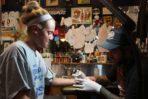 Inked: Project Semicolon inspires Moore