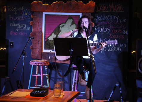 A howl of a time: The Wolf hosts open mic night