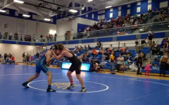 Wrestling competes in first tournament