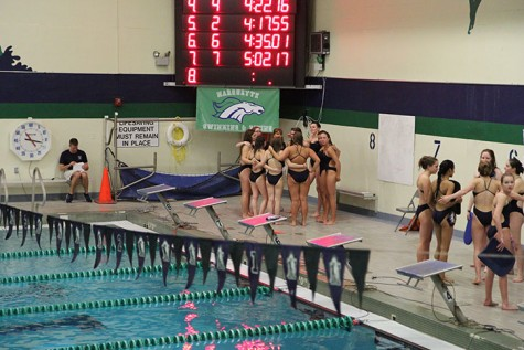 Photo Gallery: Girls Swim & Dive Senior Night