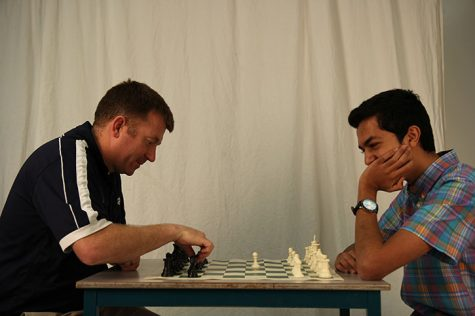 Student challenges administrator to chess game