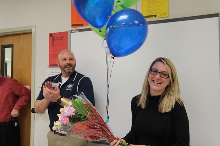 Melissa Burger named Teacher of the Year