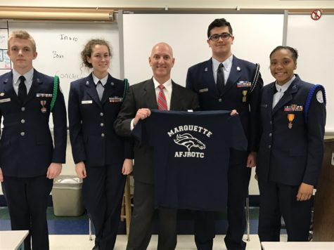 AFJROTC Exceeds Expectations in Inspection