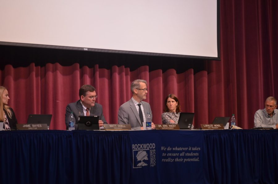 April 20 RSD Board Meeting