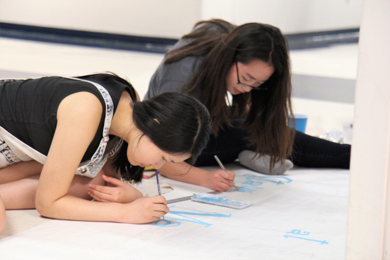 AP Art studio prepares for Class 2017 graduation