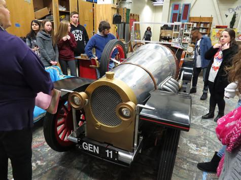 Video: Chitty Chitty Bang Bang car arrives