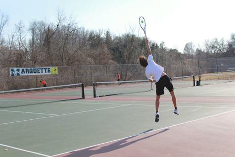 Photo Gallery: Boy's tennis plays to determine team rankings