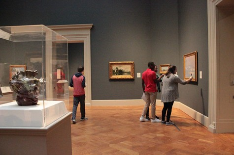 Photo Gallery: French IV and V Art Museum Field Trip