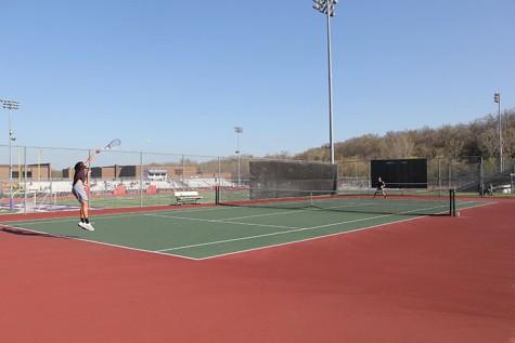 Photo Gallery: Boys Varisty Tennis match at Eureka