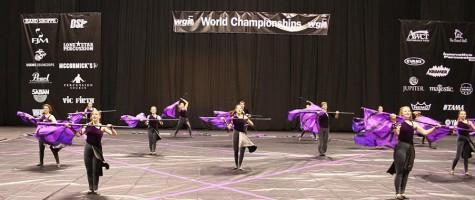 Winterguard receives personal best at Worlds
