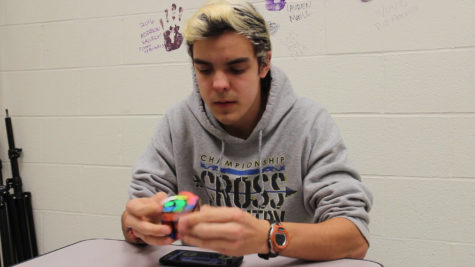 Video: MHS Senior Solves Rubik's Cube in 24 Seconds