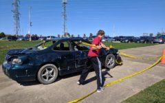 SADD holds annual Car Bash event