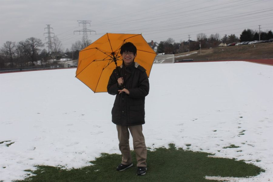 Clay+Huang%2C+sophomore%2C+said+he+carries+a+yellow+umbrella+around+with+him+in+case+it+rains+or+snows.+