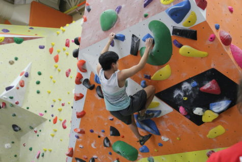 Rock climbing club finds success in competitions