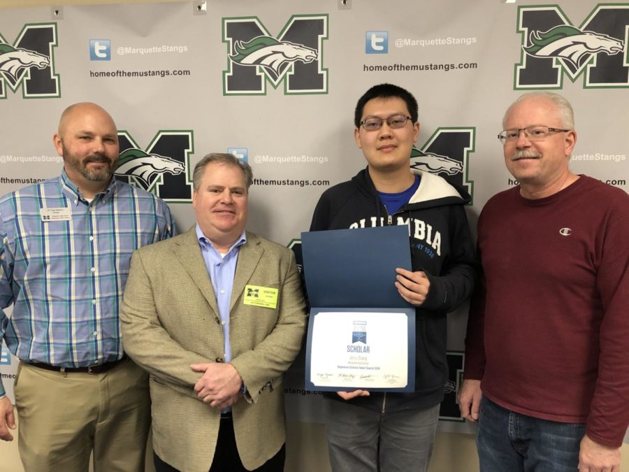 Senior wins Regeneron Science Talent Search Scholar Award