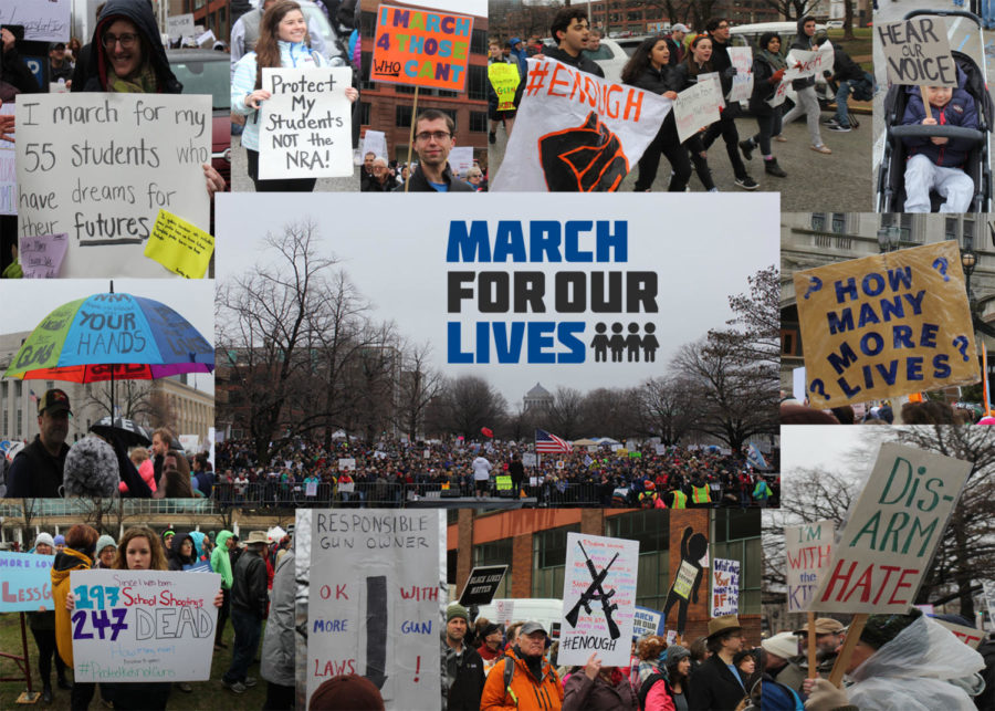 Signs for change: March for Our lives protest