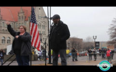 Reverend Darryl Gray speaks at March for Our Lives