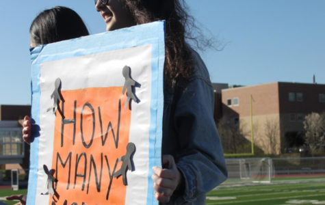 Students attend first hour Walkout