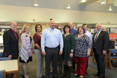 Video: Dr. Greg Mathison receives high school principal of the year award