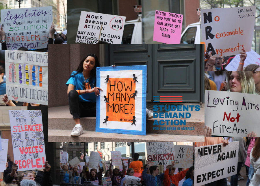 Photo Gallery: Signs for Change – Students Demand Action rally